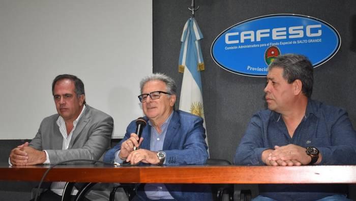Resultado de imagen para Benedetto tuvo su primer día como presidente de CAFESG